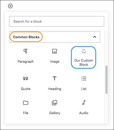 Gutenberg tutorial, Our Custom Block, gutendev, gutenberg
