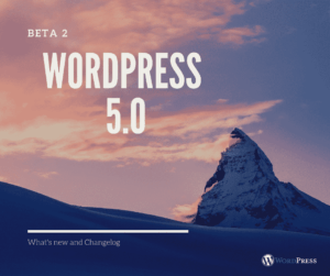 WordPress 5.0 Beta 2 Released!