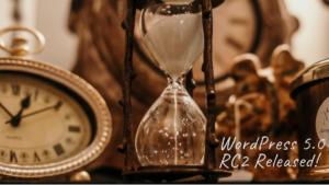 WordPress 5.0 RC2 Released