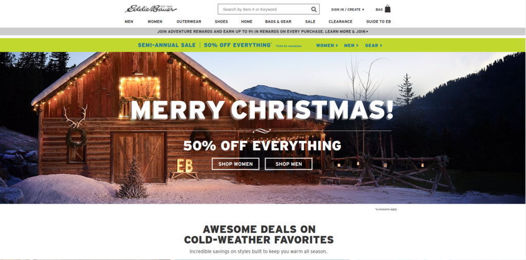 Eddie Bauer | Gutendev | WordPress websites with Gutendev | New WordPress | WordPress Tutorials | Plugins WordPress