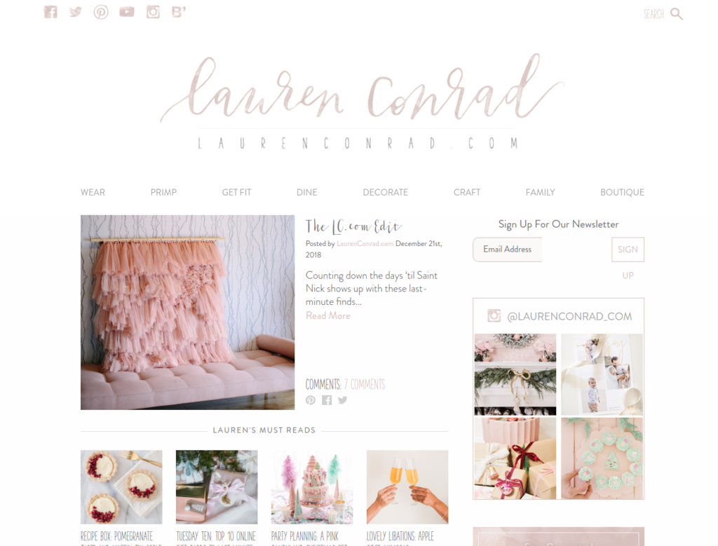 Lauren Conrad | Gutendev | WordPress websites with Gutendev | New WordPress | WordPress Tutorials | Plugins WordPress