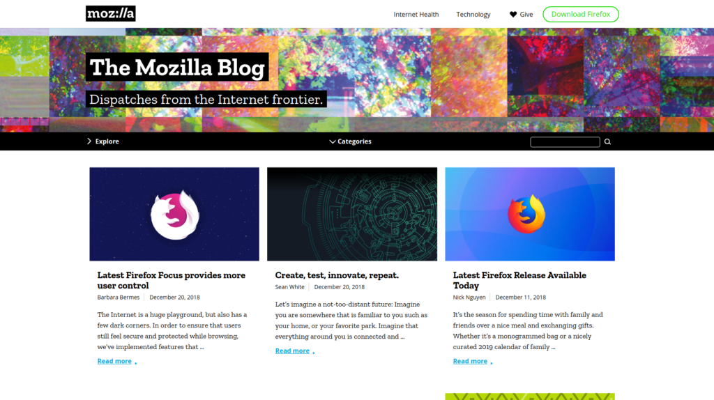 Mozilla Blog | Gutendev | WordPress websites with Gutendev | New WordPress | WordPress Tutorials | Plugins WordPress