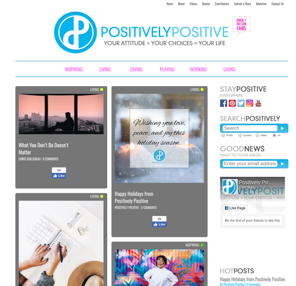 Positively Positive | Gutendev | WordPress websites with Gutendev | New WordPress | WordPress Tutorials | Plugins WordPress
