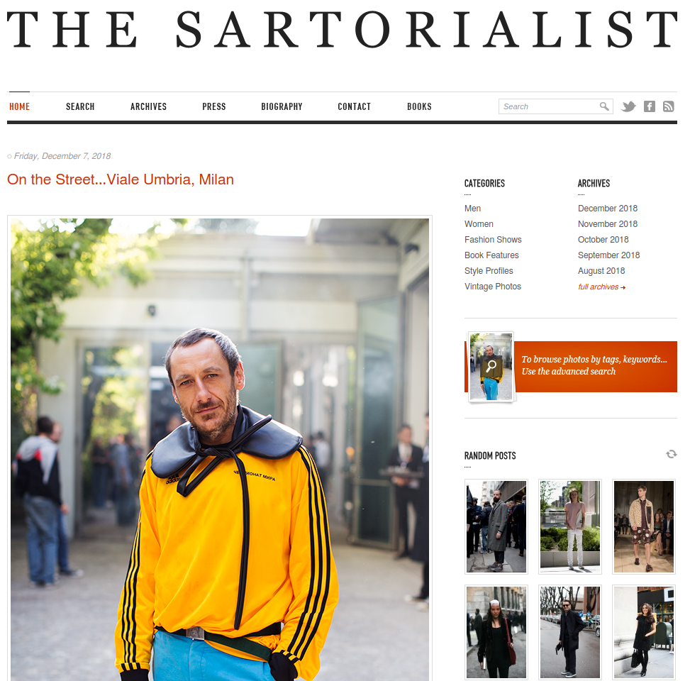 The Sartorialist | Gutendev | WordPress websites with Gutendev | New WordPress | WordPress Tutorials | Plugins WordPress