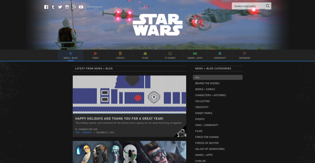 star wars | Gutendev | WordPress websites with Gutendev | New WordPress | WordPress Tutorials | Plugins WordPress