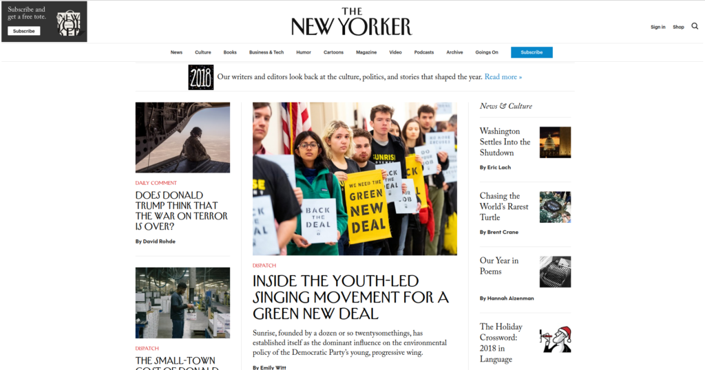 The new yorker | Gutendev | WordPress websites with Gutendev | New WordPress | WordPress Tutorials | Plugins WordPress