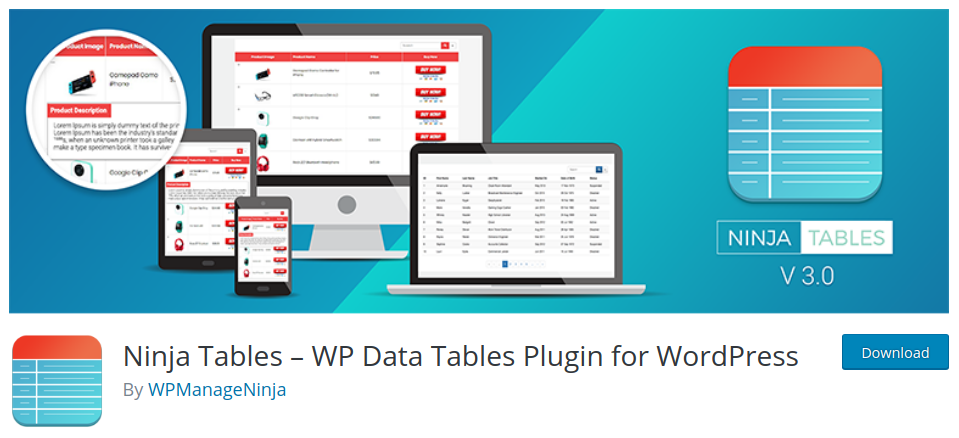 ninja tables wordpress table editor easy table wordpress wordpress table generator wordpress table search wordpress table without plugin wordpress table post plugin wordpress table grid plugin