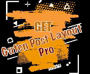 Get guten post layout pro