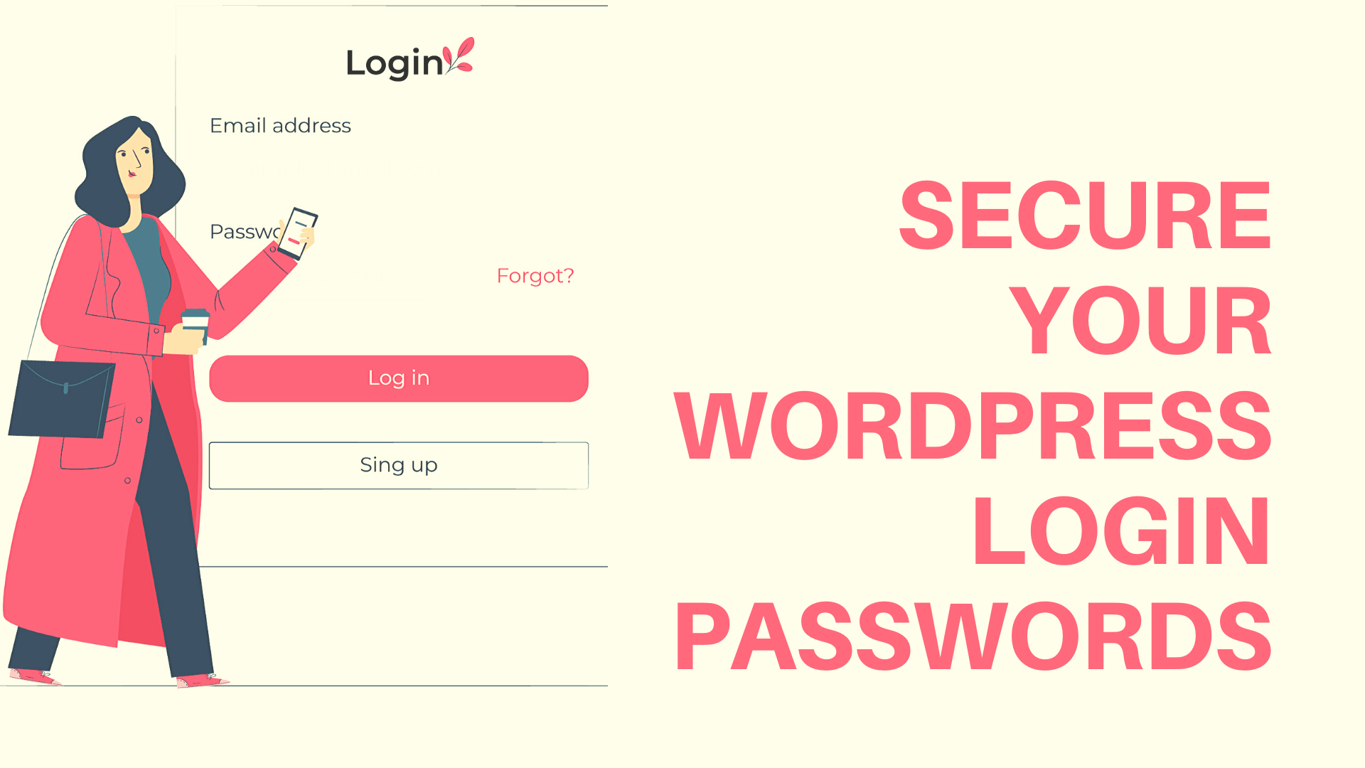 Choosing Secure passwords for your WordPress sites.