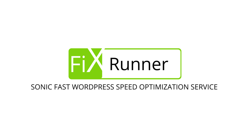 FixRunner offers you a great WordPress Speed optimization service.