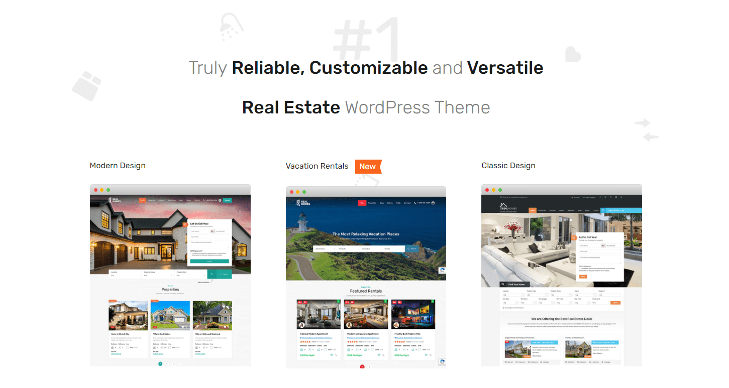 RealHomes Real Estate WordPress plugin