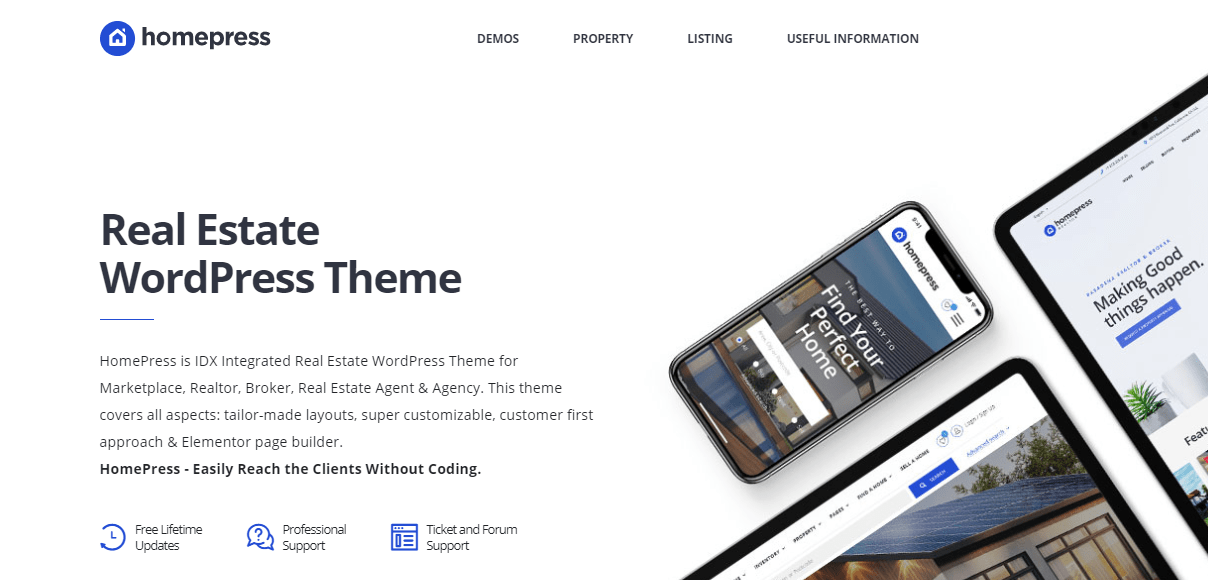 HomePress-Real-Estate-WordPress-Theme