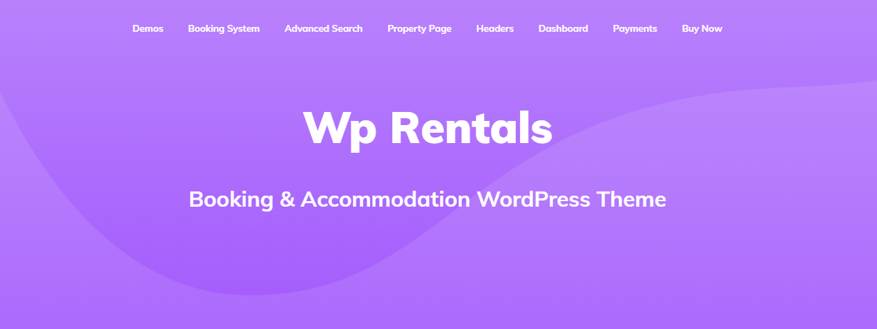 WP Rentals- Property Booking & Accommodation WordPress Theme
